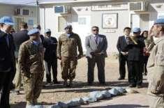 پاک فوج کے افسر اقوام متحدہ مشن کے فورس کمانڈر مقرر