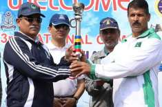 پاک بحریہ نے 33 ویں قومی کھیلوں2019کی مشعل تھام لی