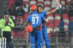 Hazratullah Zazai's 162* leads Afghanistan's record-shattering display
