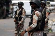 پاکستان رینجرز (سندھ)اور پولیس کا کراچی بھر میں غیر قانونی سیکیورٹی ..