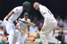برسبین ٹیسٹ، پاکستان ٹیم آسٹریلیا کے خلاف پہلے روز اپنی پہلی اننگز ..