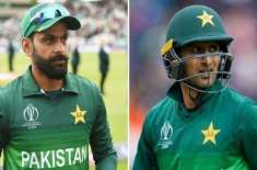 Shoaib and Hafeez available for national T20 tournament after leisure from CPL