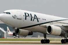 ملزمان کی پی آئی اے کے طیارے پر مبینہ فائرنگ
