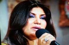 فلم انڈسٹری کے بحران کی وجہ سے گلوکار بھی شدید متاثر ہوئے ' سائرہ نسیم