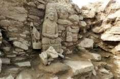 سوات میں13سوسال پرانا قدیم مندر دریافت