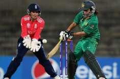 وویمنز کرکٹ سیریز' انگلینڈ نے دوسرے ایک روزہ میچ میں پاکستان کو 127 ..