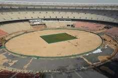 دنیا کے سب سے بڑے کرکٹ اسٹیڈیم کی تعمیر آخری مراحل میں داخل