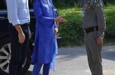 پاکستان پہنچنے پر برطانوی شہزادی کے ایک عمل نے برطانوی میڈیا کو سیخ ..
