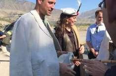 شہزادہ ولیم اور ان کی اہلیہ چترال پہنچ گئے،