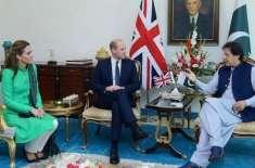 برطانوی شاہی جوڑے کی وزیر اعظم اور صدر مملکت سے ملاقاتیں