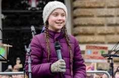 سوئیڈن کی 16سالہ طالبہ گرتا تھنبرگ امن کے نوبیل انعام کے لیے نامزد