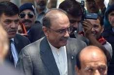 آصف علی زر داری کی حمزہ شہباز شریف کی گرفتاری کی مذمت