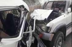 جنازے پر جانے والی گاڑی کو حادثہ،ایک ہی خاندان کے 7 افراد جاں بحق ہو ..