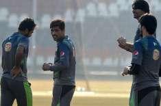 پاکستانی کرکٹرزکے فٹنس کیمپ ڈرامے کا ڈراپ سین
