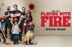 جان سینا کی کامیڈی فلم'پلیئنگ ود فائر' کا ٹریلر جاری