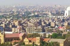 کراچی کی شاہراہ فیصل پر پٹرول پمپ 30 روپے لیز پر دستیاب