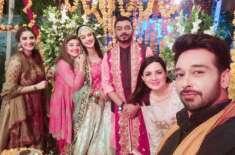 معروف ٹی وی اداکارہ ناہید شبیر نے شادی کرکے اپنی زندگی کے نئے سفر کا ..