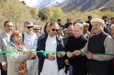 وفاقی وزیر توانائی عمر ایوب نے چترال، گازین میں 306کلو واٹ ہائیڈرو پاور ..
