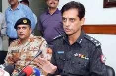 کراچی آپریشن کے مشہور زمانہ کردار ایڈیشنل آئی جی پولیس کراچی شاہد حیات ..