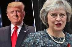 برطانوی وزیراعظم بریگزیٹ پر امریکی صدرکامشورہ نظرانداز کردیا،ٹرمپ ..