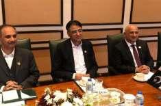 وزیر خزانہ اسد عمر سے سعودی وزیر توانائی کی ملاقات ،پاکستان میں اربوں ..
