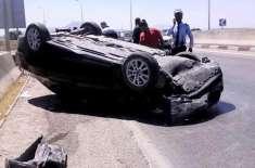 سعودی لڑکی کی اناڑی ڈرائیونگ نے حادثہ کروا دیا