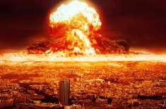 پاک بھارت ایٹمی جنگ : دنیا کی90 فیصد آبادی ختم ہوجائے گی، امریکی ماہرین ..