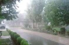 آزاد کشمیر ، گلگت بلتستان اور اسلام آباد میں بارش اور پہاڑوں پر برفباری ..