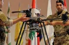 اسرائیل کی ڈرون طیاروں کے ذریعے حزب اللہ کے گڑھ کی جاسوسی