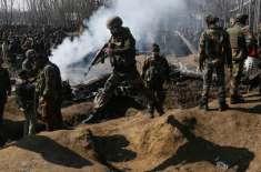 مقبوضہ کشمیرمیں بھارتی فوجیوں کی طرف سے پر امن مظاہرین پر طاقت کا وحشیانہ ..