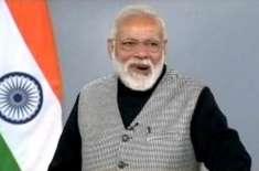 وقت آگیا دہشتگردی سے پاک ماحول میں آگے بڑھیں، بھارتی وزیراعظم کی ..