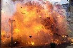 ڈیرہ مراد جمالی میں بس اڈے کے قریب دھماکہ