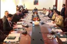 وزیر اعظم عمران خان کی زیر صدارت قومی سلامتی کمیٹی کے اجلاس کا انعقاد