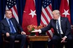 ترکی اور امریکا کے درمیان سرد جنگ'صدر ٹرمپ نے گھنٹے ٹیک دیئے