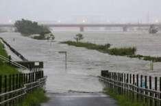 جاپان میں سمندری طوفان سے ہلاکتوں کی تعداد 70 ہوگئی