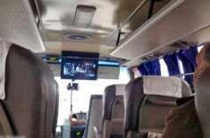 مسافر بسوں میں بھارتی فلمیں دکھانے پر پابندی عائد