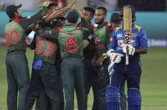 بنگلہ دیش کا سری لنکن بورڈ پریذیڈنٹ الیون کو ٹور ون ڈے میچ میں 5 وکٹوں ..