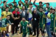 Pakistan beats India 3-2 to get 7th position in Asian Volleyball Championship