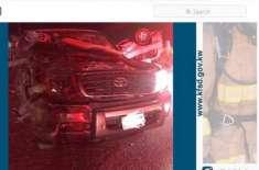 کویت: جائے حادثہ پر اکٹھے ہونے والے لوگ خود حادثے کا شکار ہو گئے