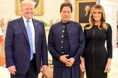 امریکی خاتون اول نے وزیراعظم عمران خان سے ملاقات کی تصاویر پوسٹ کردیں