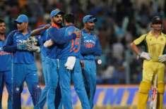 بھارت اور آسٹریلیا کے درمیان فیصلہ کن ون ڈے (کل) کھیلا جائے گا