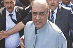 سابق صدرآصف علی زرداری کا دماغ چھوٹا ہو گیا ہے