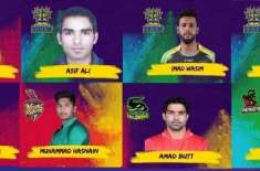 Pakistani players signed at the CPL 2019
