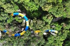 World's Longest Water Slide Will Take You on a Four-Minute Ride Through a Malaysian Jungle
