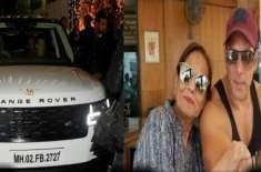 سلمان خان نے اپنی والدہ کو مہنگی ترین گاڑی تحفے میں دیدی