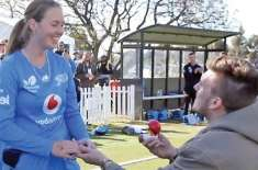 Offer to marry female Australian cricketer on the field Amanda debuted for Australia in 2016