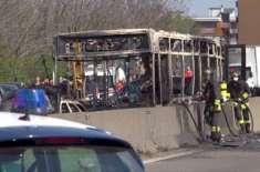 اٹلی میں بس ڈرائیور کی 51 طلباء کوپٹرول چھڑک کر زندہ جلانے کی کوشش ناکام