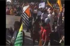 بھارتی وزیراعظم مودی کو امریکا میں شدید احتجاجی مظاہروں کا سامنا