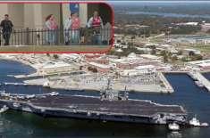 امریکی بحری ہوائی اڈے پر حملہ
