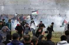 غزہ میں اسرائیلی فوج کے حملے میں پانچ فلسطینی شہید